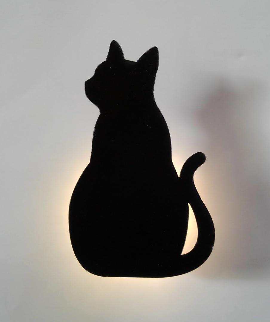 test ツイッターメディア - こんなのあったよ!猫のLEDライト?^?ω?^?ボタン電池1つでもちろんON/offつき。明るいのでわかりにくいけど、これが¥100とか本当にすごい。押しピンで壁に掛けられます。私は枕元に。こういうの欲しかったんだ~☆2種類GET♪ #Seria(セリア) #ネコ #ねこ https://t.co/oCYCT0Z4gm