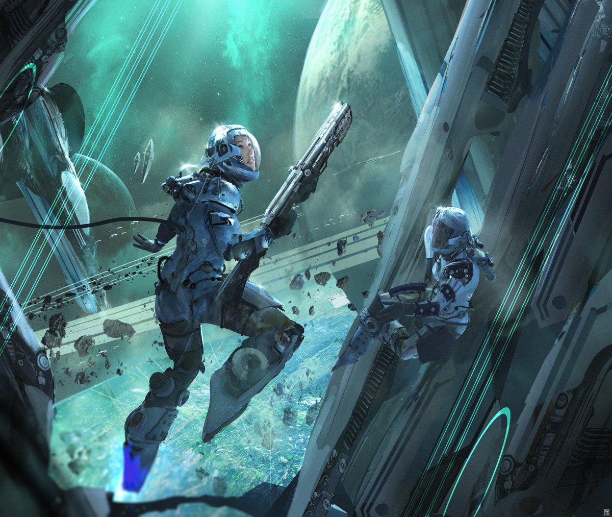 sci fi art - HD1920×1620