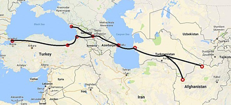 Afghanistan to send first cargo to Europe through Lapis Lazuli route 1tvnews.af/en/news/afghan… #AFG
