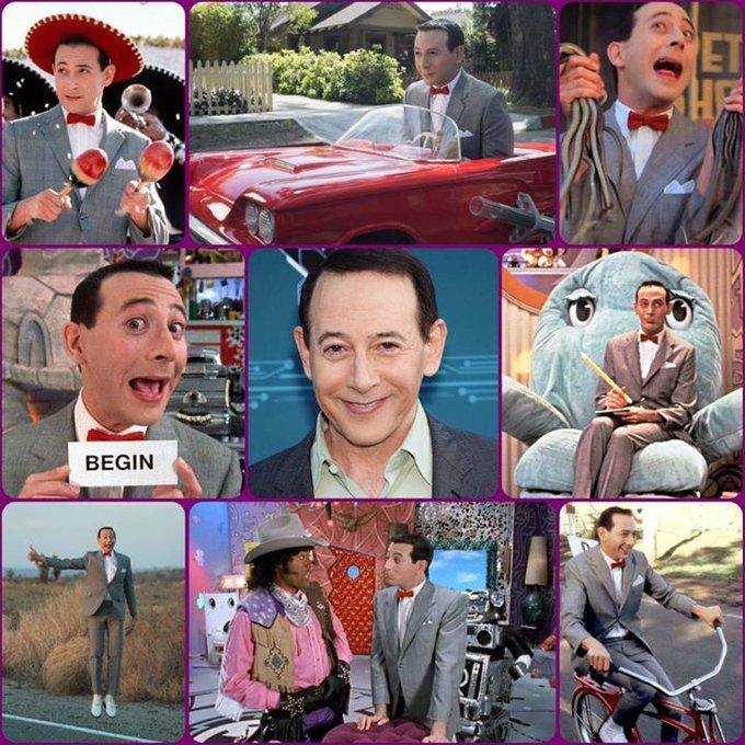 Happy Birthday Paul Reubens, better known as Pee-wee Herman of & more!