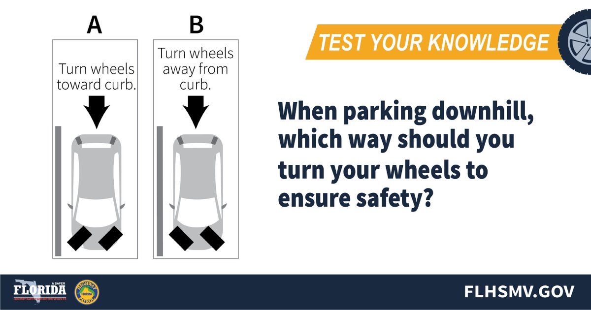 Florida Drivers Handbook >> Flhsmv On Twitter Test Your Knowledge Of The Florida