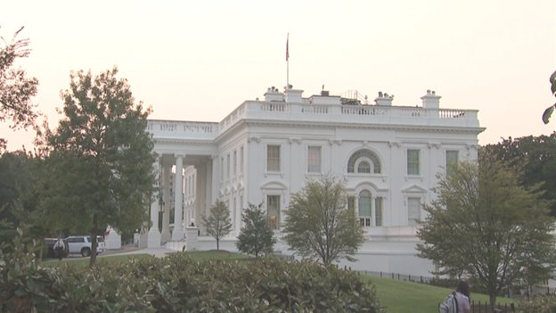 Flag back at full staff atop WH. Pres Trump did not issue proclamation on the death of , which usually calls for flags to remain at half-staff through the day of interment, which is Sunday at the .