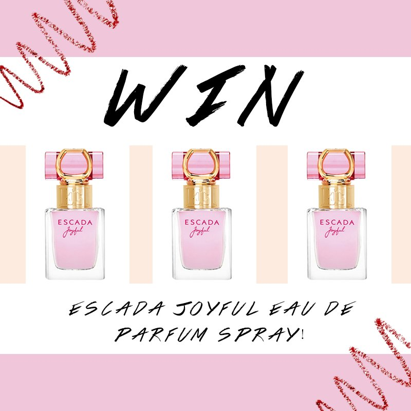 The Beauty Store On Twitter Competition Win The Escada Joyful