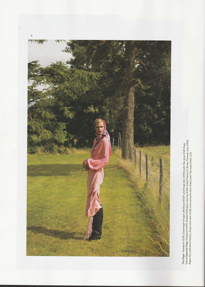 Beautiful Shot In ITatlers September Issue That Includes My Flower Flash Pink