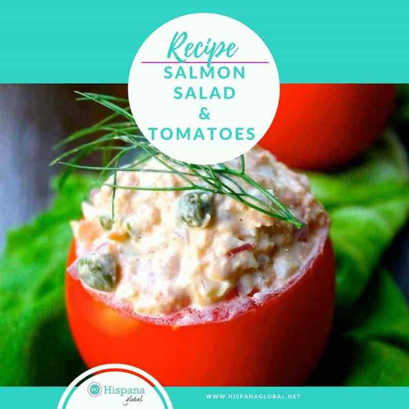 Recipe: Salmon Salad-Filled Tomatoes https://t.co/JuRPKX4FhX #Food #Recipe #Salmon https://t.co/ZOX1pykYCQ