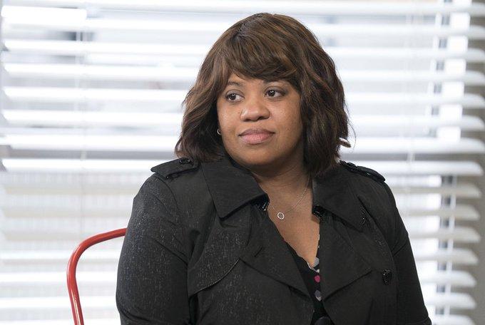 "Fact \""Chandra Wilson\s mother was a postal worker.\""  -Happy Birthday Chandra Wilson"