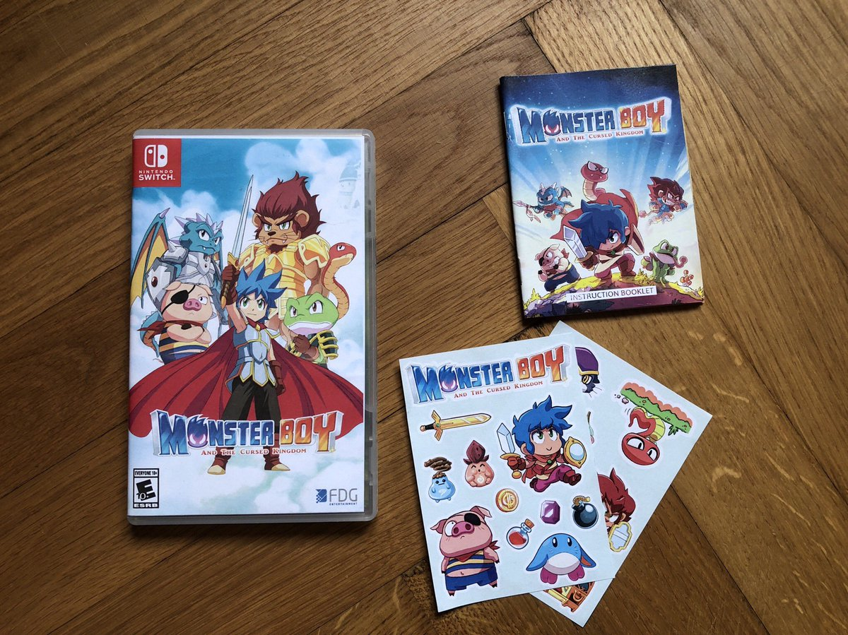 Monster Boy And The Cursed Kingdom DlmymrSXgAEQyNj