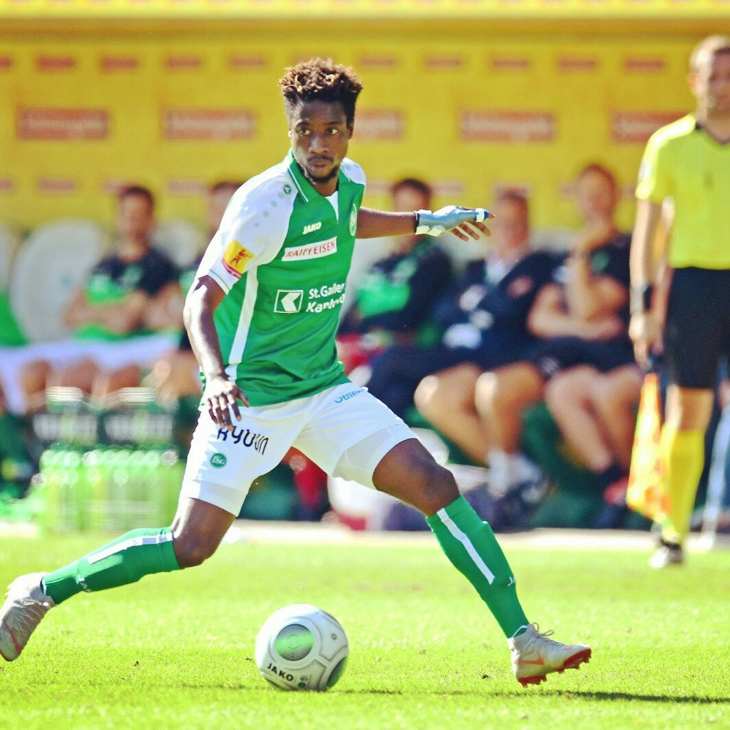 Majeed Ashimeru provide assist in St Gallen 3-1 defeat to Basel