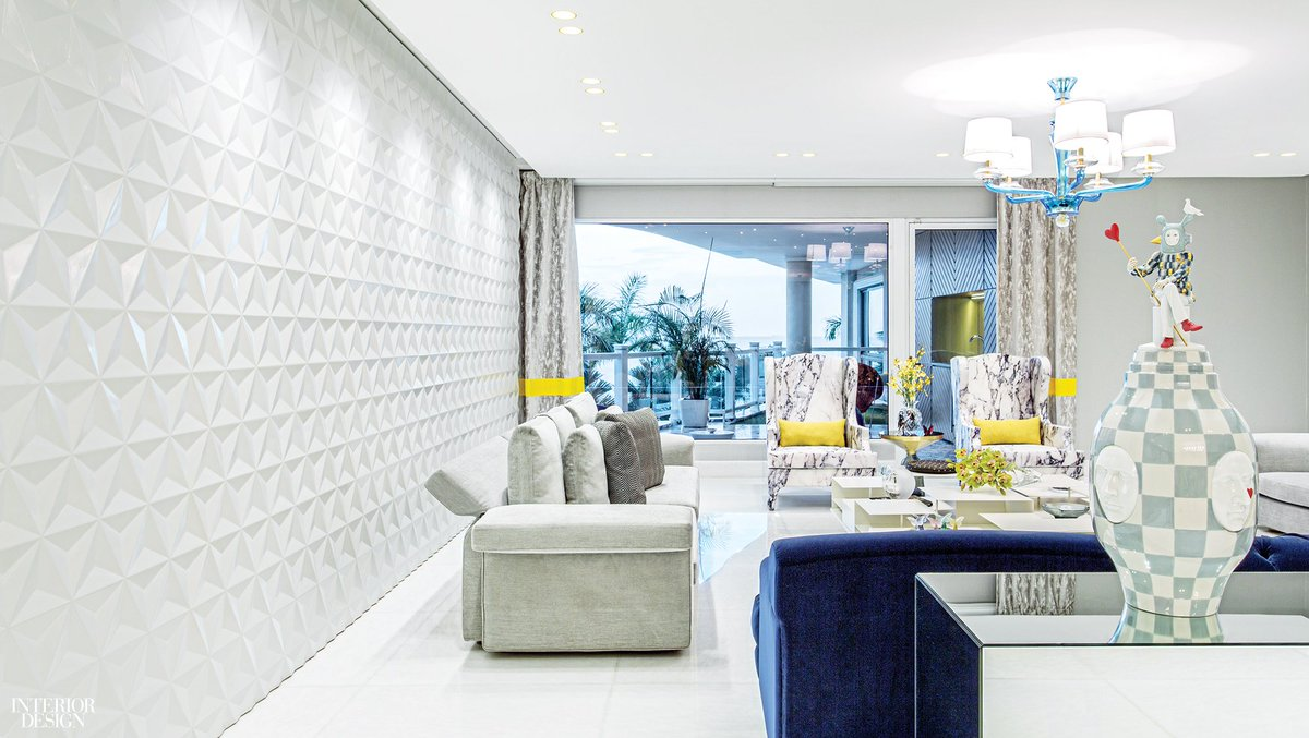 Interior design on twitter bt arquitectos creates dynamic tensions in a beachfront panama city apartment https t co 0hplmcqbtl