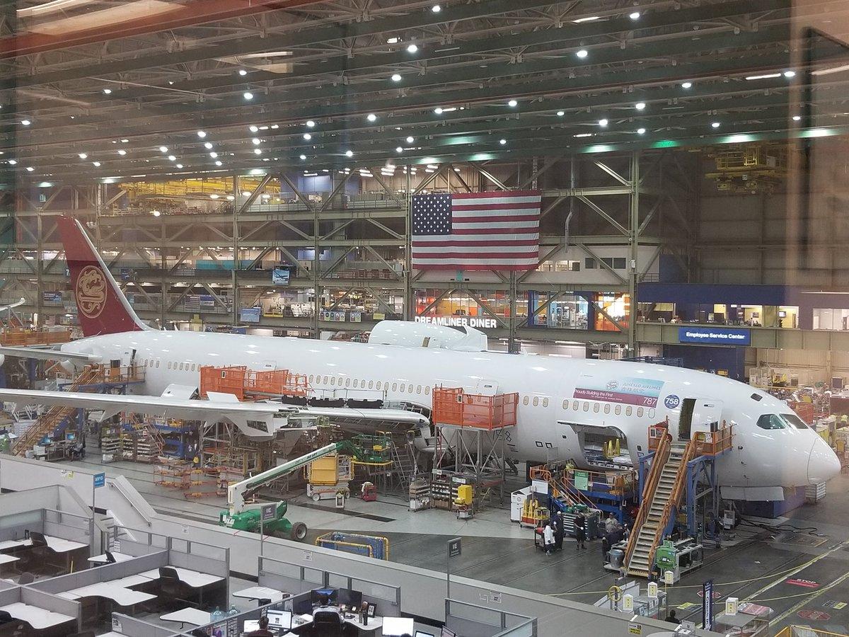 Resultado de imagen para Boeing assembly line
