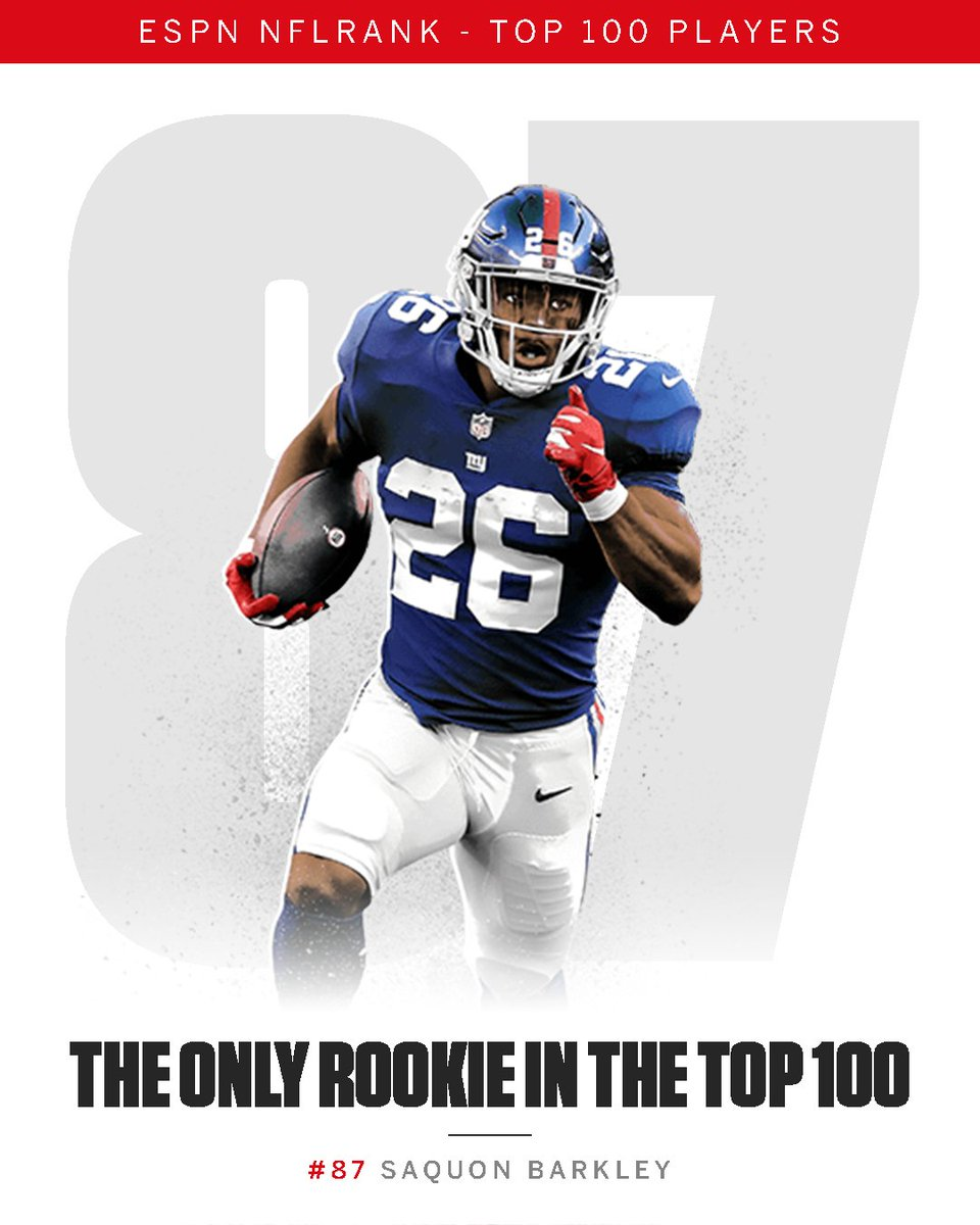Nfl On Espn On Twitter Get Ready For Saquon