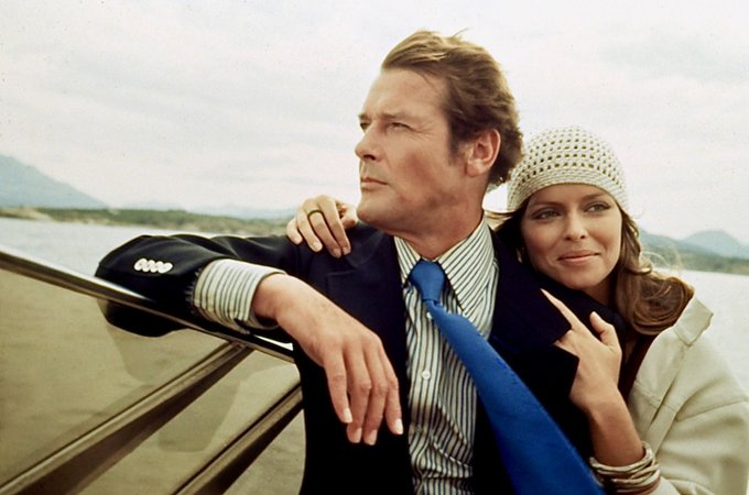 Happy birthday to Barbara Bach, who starred opposite Roger Moore in THE SPY WHO LOVED ME (1977).