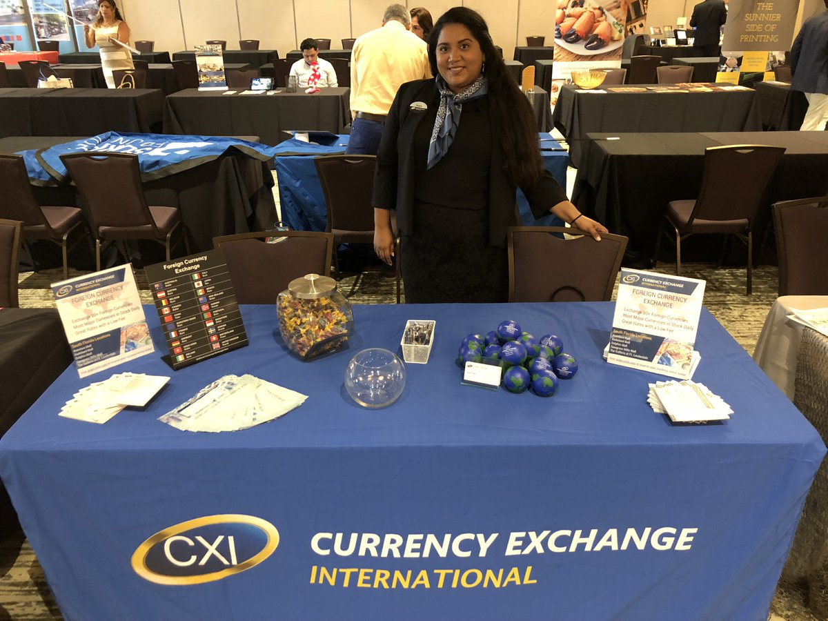 Currency Exchange International Is Proud To Have Dedicated Team Members Who Attended The Latest Greater Miami Convention Visitor S Bureau Gmcvb Annual
