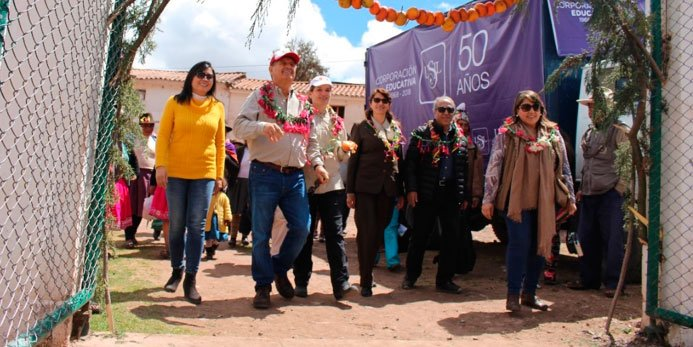 Corporación educativa USIL inauguró proyecto de responsabilidad social en comunidad de Occopata, Cusco