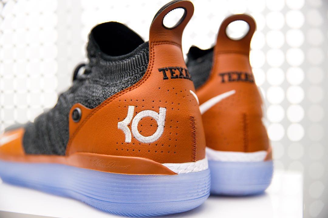ec9f2c639760 ... reduced big sale 21eaf b4311 kdtrey5 hooked texasfootball up with  exclusive nike kd 11s.pic