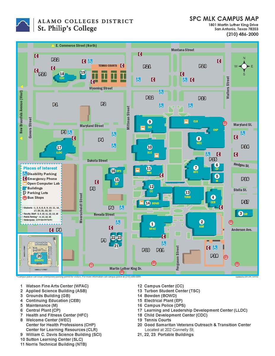 st philips campus map St Philip S College On Twitter Good Morning Tigers Be Sure To st philips campus map
