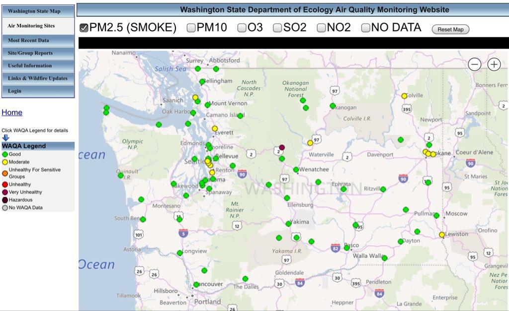 Dnr Maps Washington on