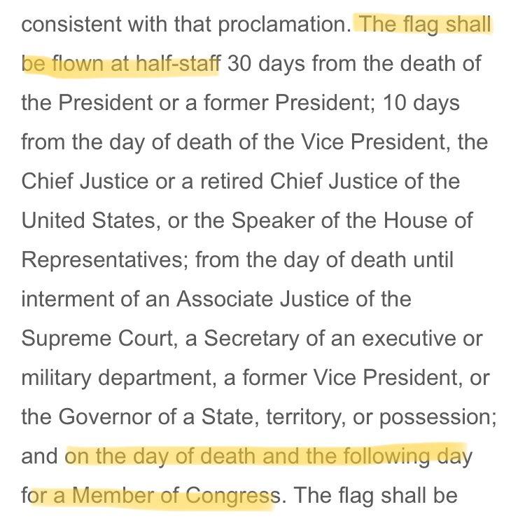 David Gura On Twitter Per The Flag Code Title 4 United States
