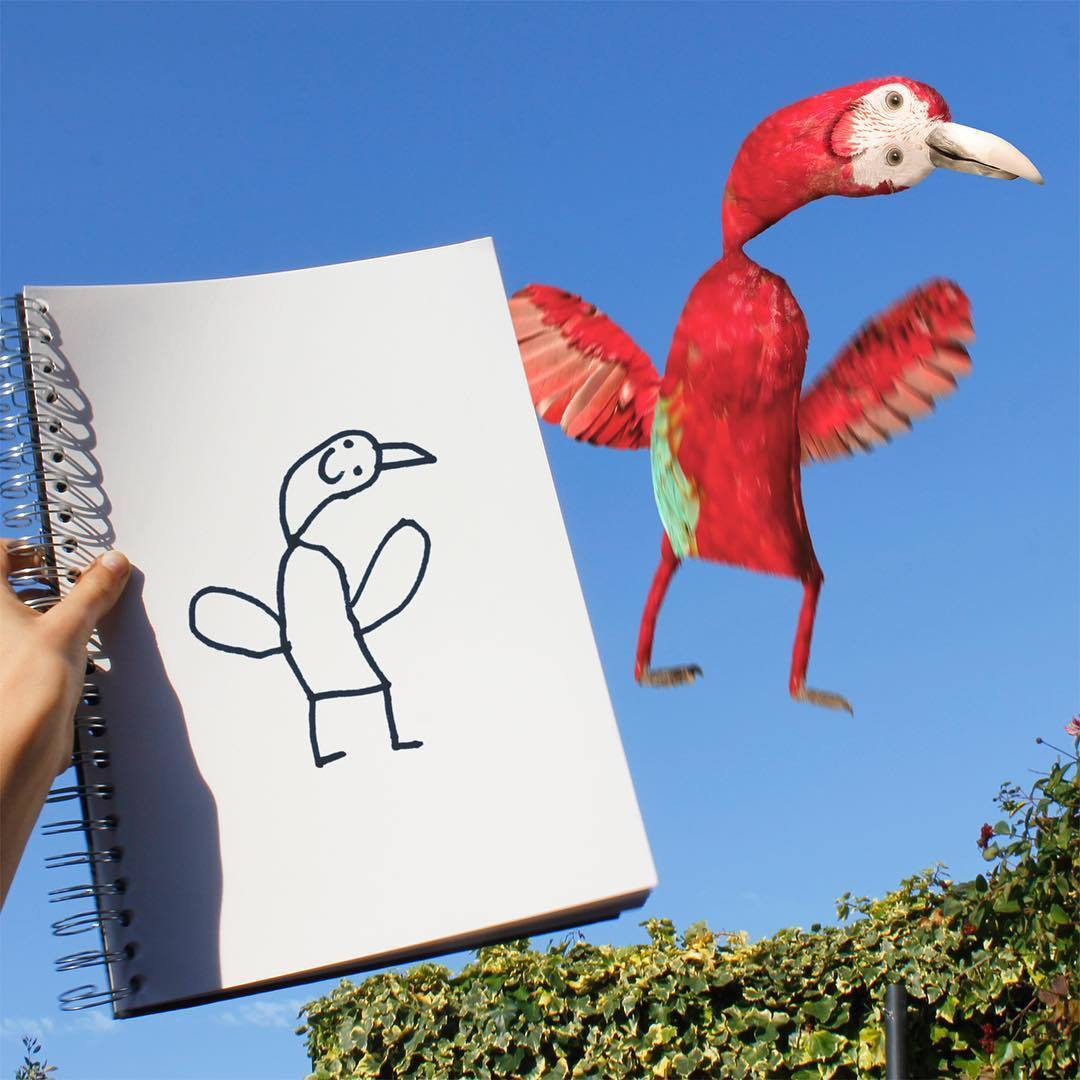 Детский рисунок фото смешной