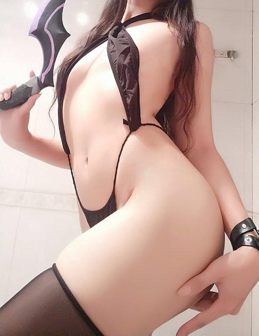 コスプレイヤー_曉美嫣_のTwitter自撮りエロ画像61