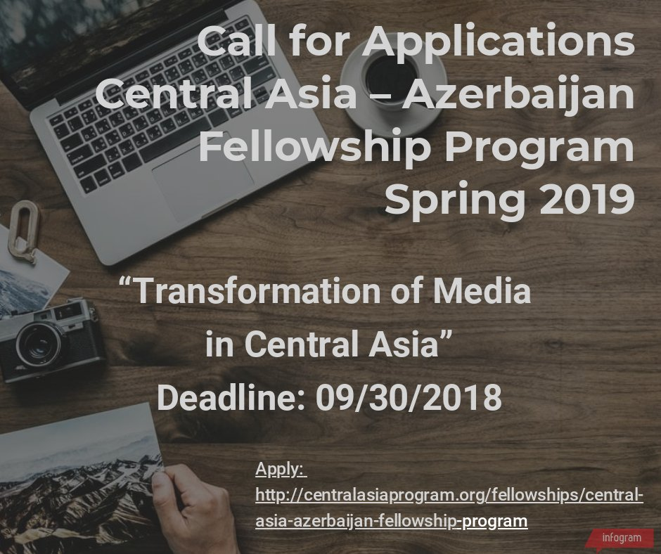 1cc4a8ce060 ... Central Asia Program (CAP) welcomes applications for its Central Asia – Azerbaijan  Fellowship Program. Three fellows will be selected for Spring 2019.