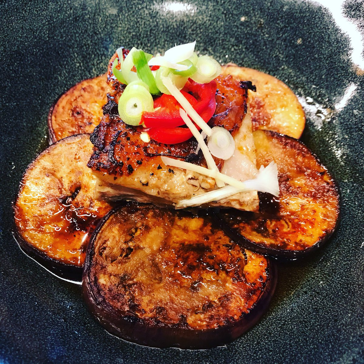 #bellypork #eggplant #tasty #lunch favourite high street eateries @wagamama_uk https://t.co/hG1fbtM4O7