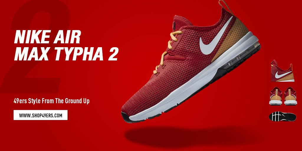 ac639b7c3 San Francisco 49ers ·  49ers 9 months. red and gold from head to toe cop a  pair of these air max typha 2