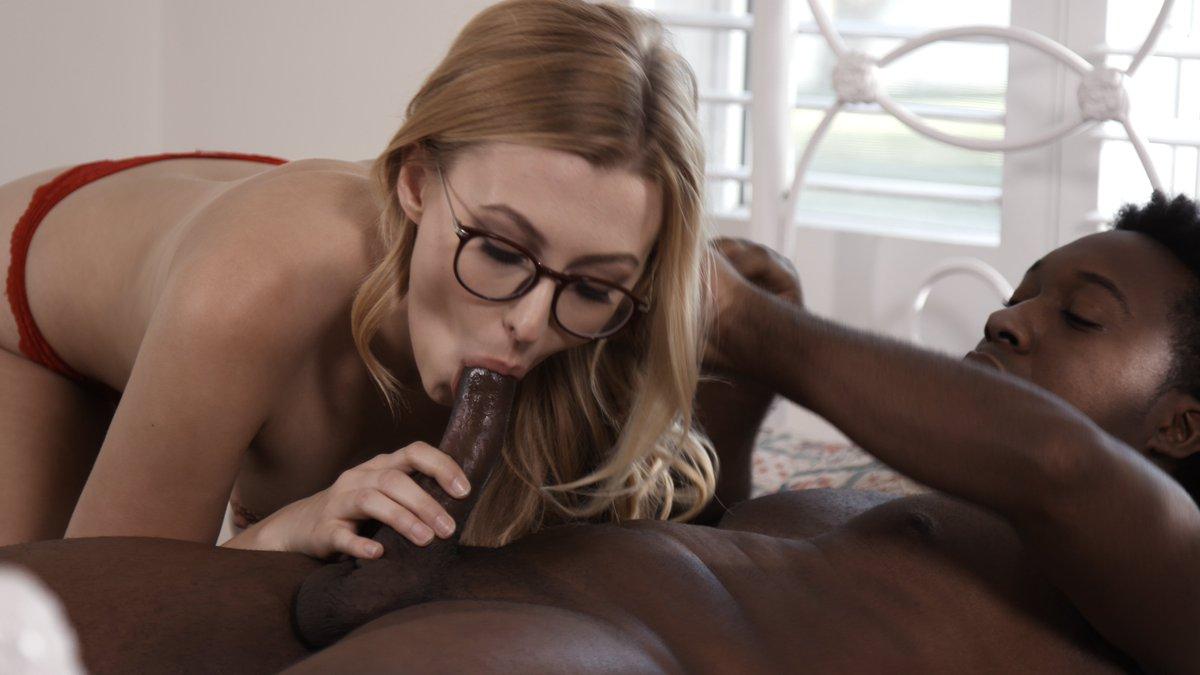 Black cock nerdy girl — pic 5