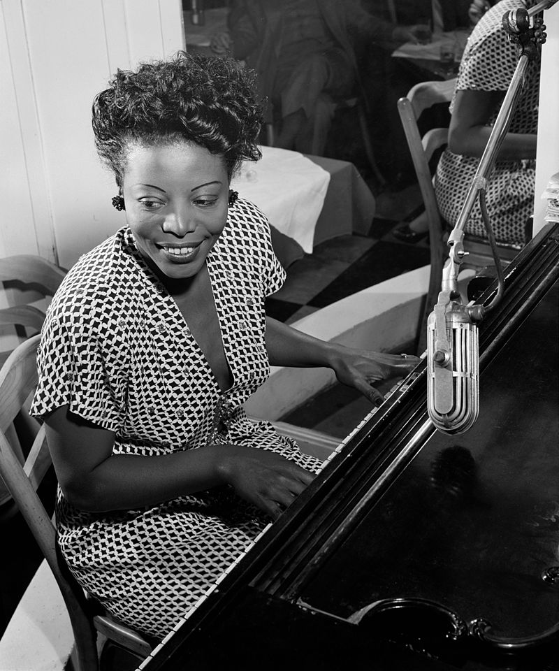 #glamourmonday Mary Lou Williams was an American Jazz pianist, arranger, and composer. This shot is from circa 1946. Williams wrote and arranged for Duke Ellington, among others. During a trip to Chicago, she recorded Drag Em and Night Life as piano solos. (via wikipedia)