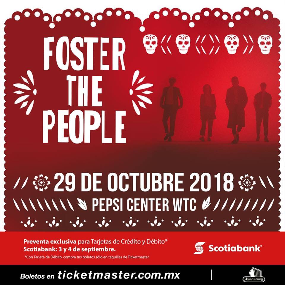 Foster The People en el Pepsi Center