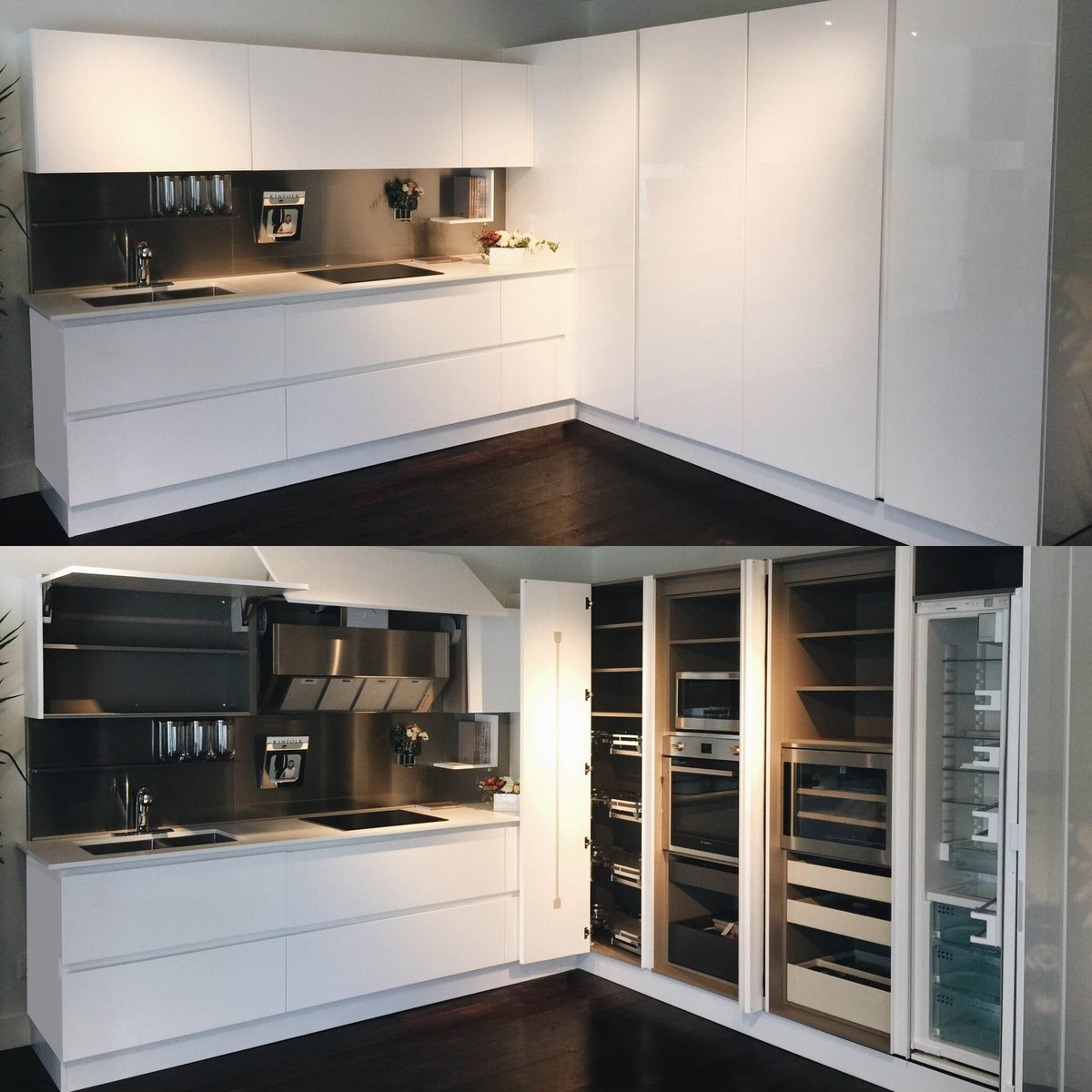 Come See Our Beautiful Italian Cabinetry And Learn About Upcoming Projects.  #vancouver #Italian #kitchen #cabinetry #white #interiors #interiordesign  #style ...