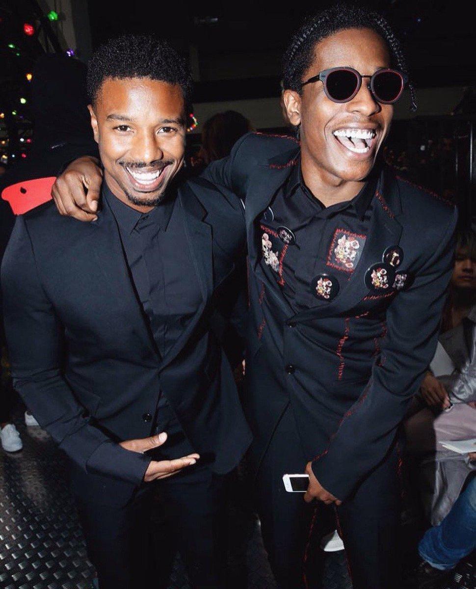 Michael B. Jordan x A$AP Rocky https://t.co/PXHxJUskUZ