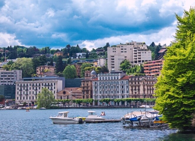 Lugano, Switzerland.. Among the most beautiful places I've been to... #SwitzerlandDiaries #citypic #Photographypic.twitter.com/rIlJcDd9xr
