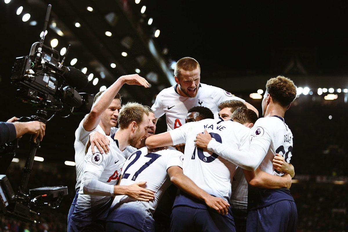 Hasil Manchester United Vs Tottenham Hotspur 3 Gol