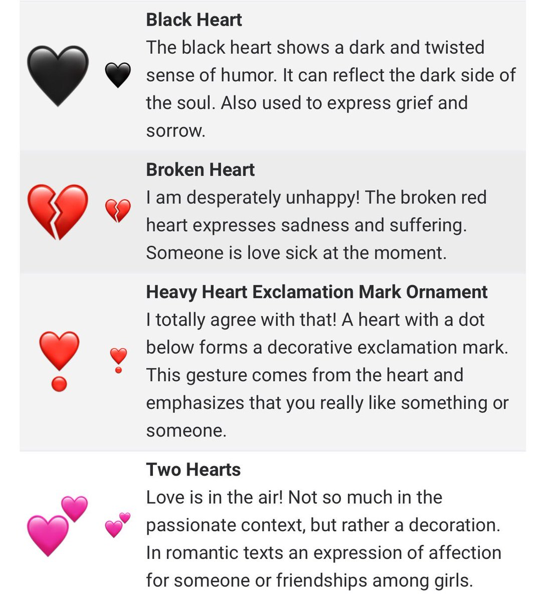 Nussy On Twitter So I Just Found Out The Meaning Of The Heart