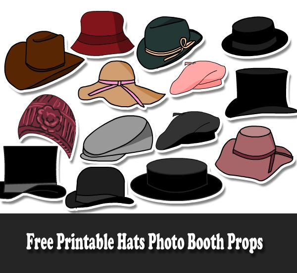 picture regarding Printable Hats identify Cost-free Printables upon Twitter: \