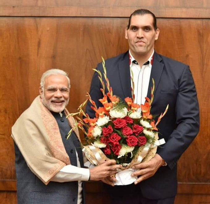 Happy Birthday to The Great Khali... Muscle Man of country