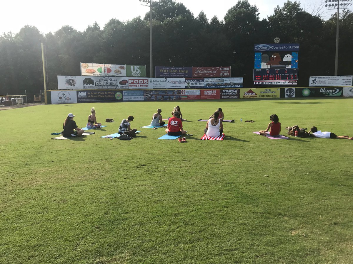 Potomac Nationals على تويتر Fans Were Treated To Some