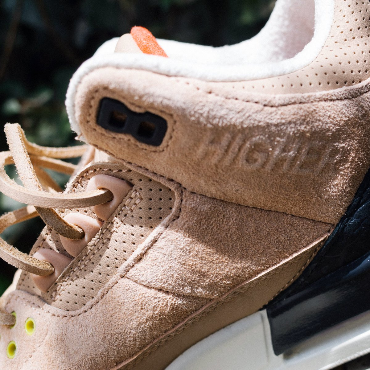 """Justin Timberlake x Air Jordan 3 JTH NRG """"Bio Beige"""" // Available 9AM Tuesday 8/28 at Undefeated La Brea and Silverlake"""