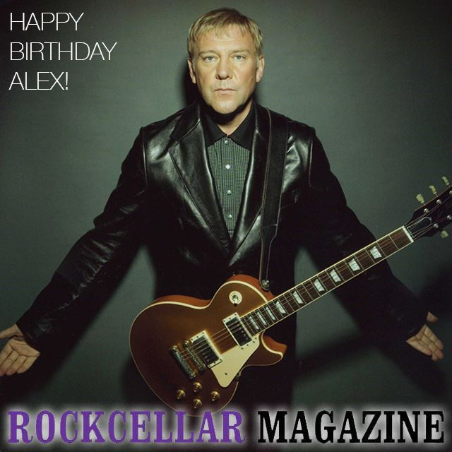 Happy 65th birthday to Alex Lifeson, 1/3 of the global prog powerhouse that is