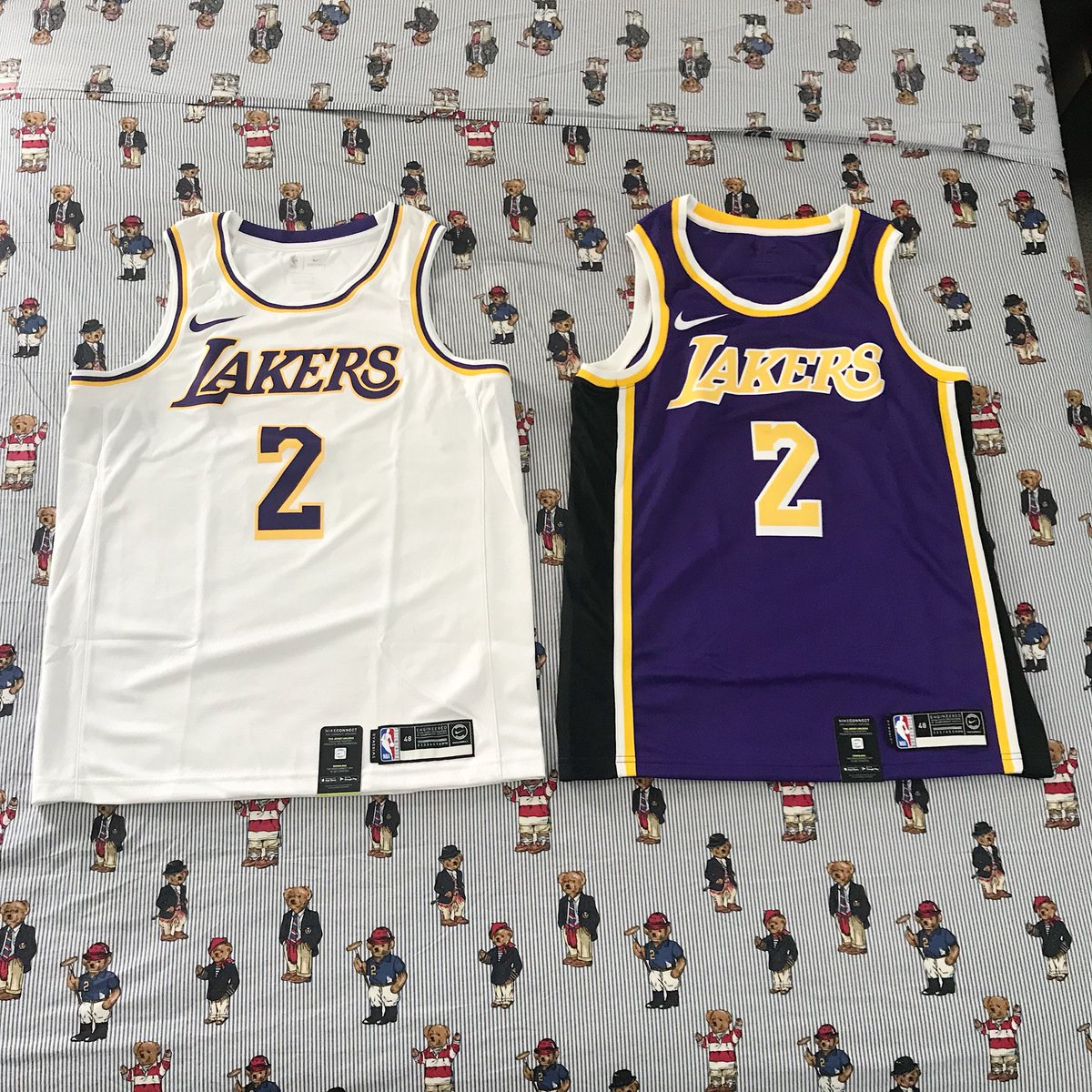 03ff47d8a These are two of every jersey that he wore during the 2017-18 NBA Season  (his rookie season) minus the MPLS jerseys. Retweet this and tag  ZO2  and  ...