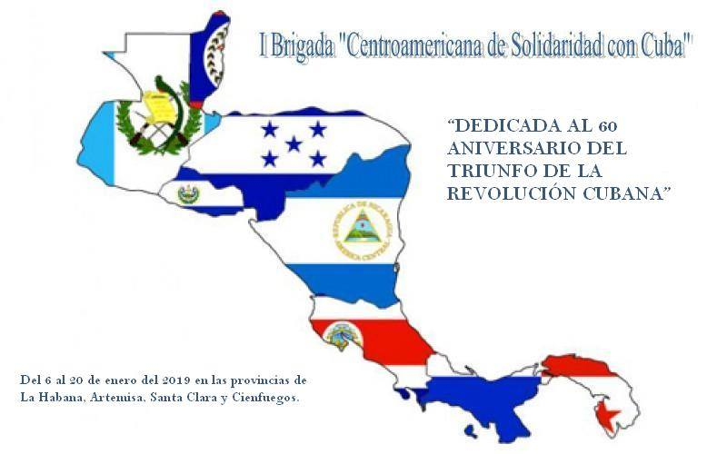 Resultado de imagen para I Brigada Centroamericana cuba