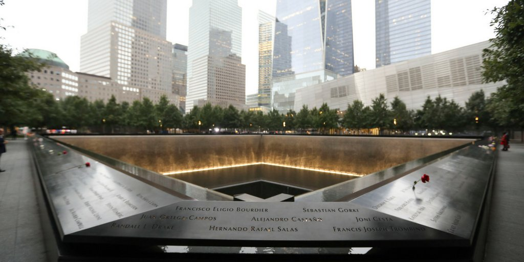 """""""Nothing can dim the light which shines from within."""" –Maya Angelou #911Memorial"""