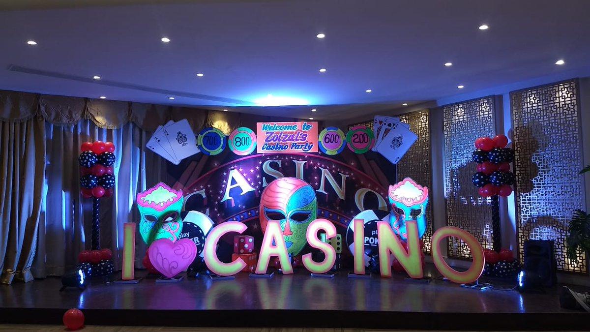 casino setup for parties