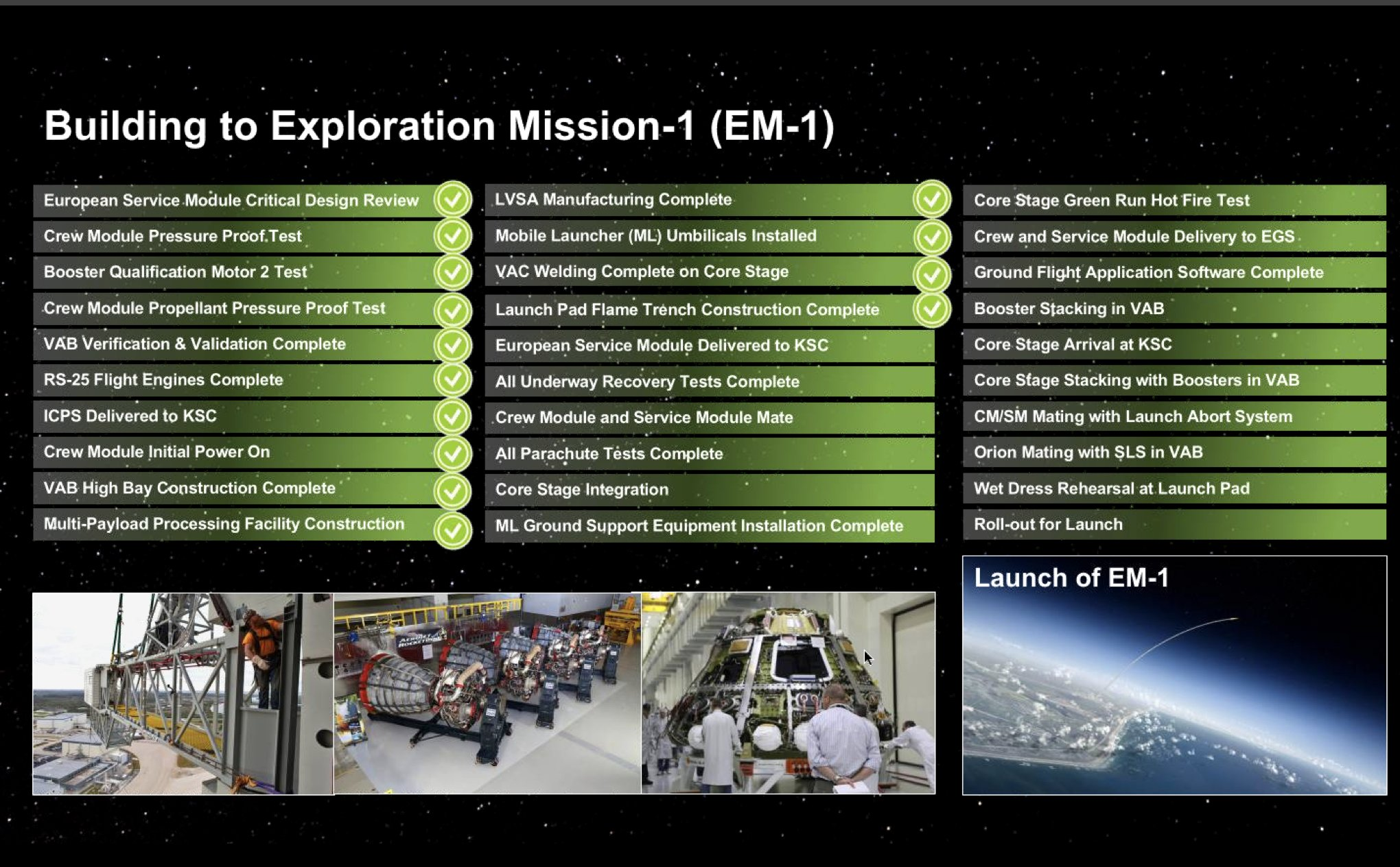 SLS block 1 (Orion Artemis-1) - Février 2022 ? DlodZW3X0AAaTYj