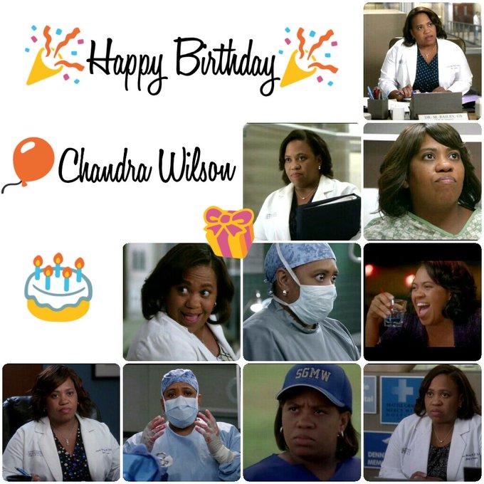 Happy Birthday Chandra Wilson
