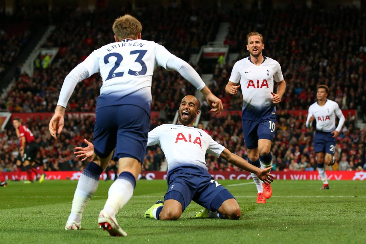 Manchester United vs Tottenham 0-3 Highlights & Goals