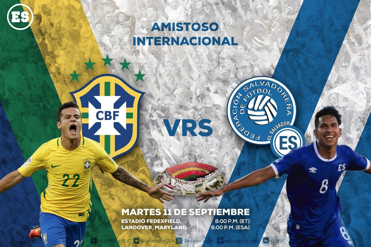 Juego amistoso contra Brasil el martes 11 de septiembre del 2018 DlovjwvX0AYbZyr