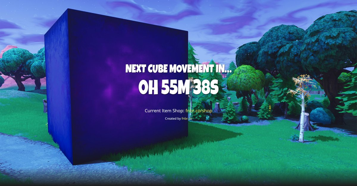 Fortnite News Fnbr News On Twitter The Cube Is On The Move Once