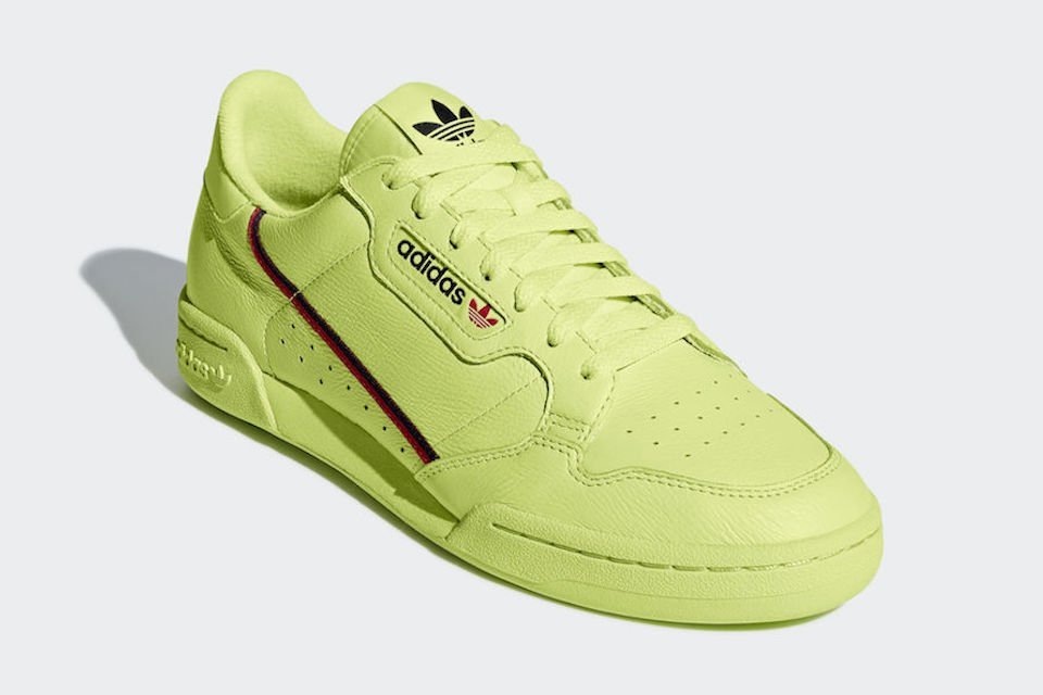 022caebca72 heres how to cop adidas continental 80 in semi frozen yellow amp clear pink  colorways